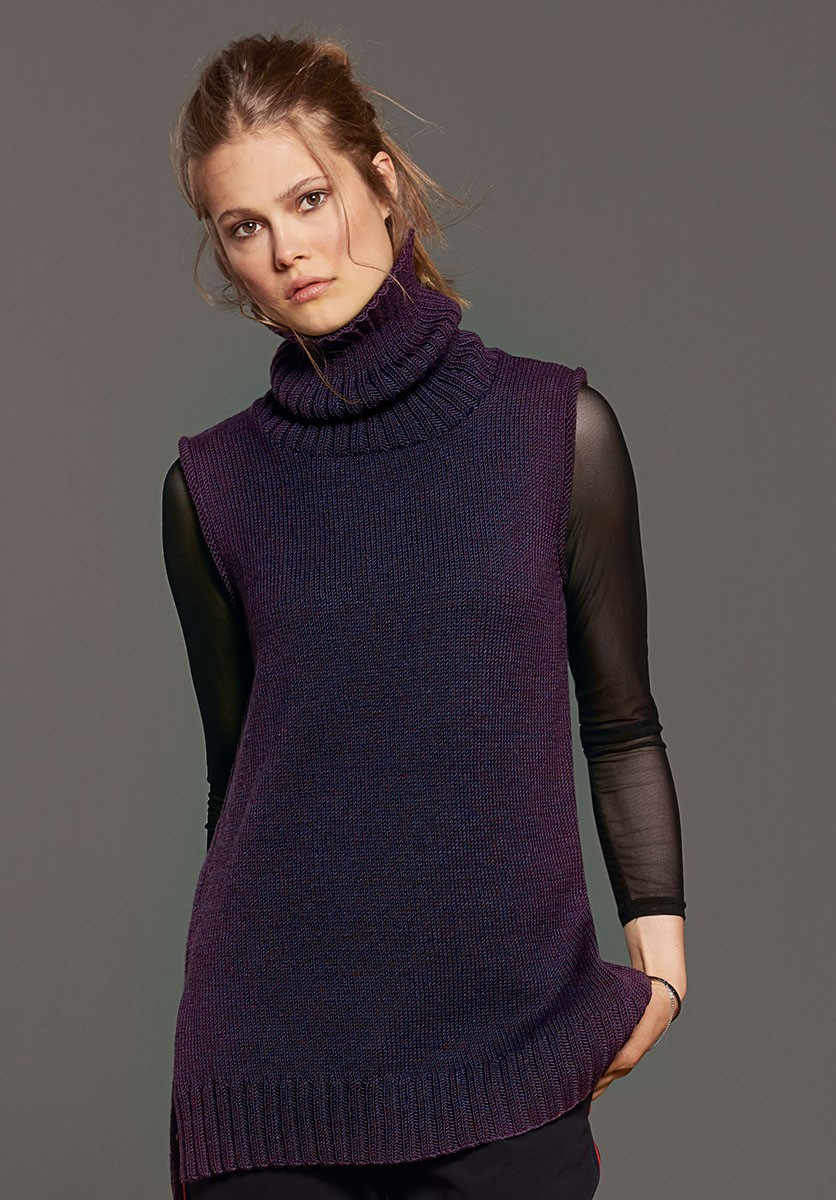 Lana Grossa TUNIQUE Cool Wool Melange