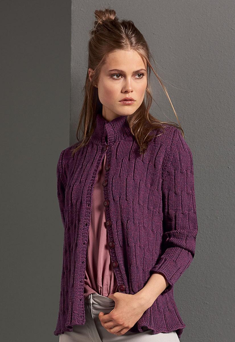 Lana Grossa GILET Cool Wool Big Melange
