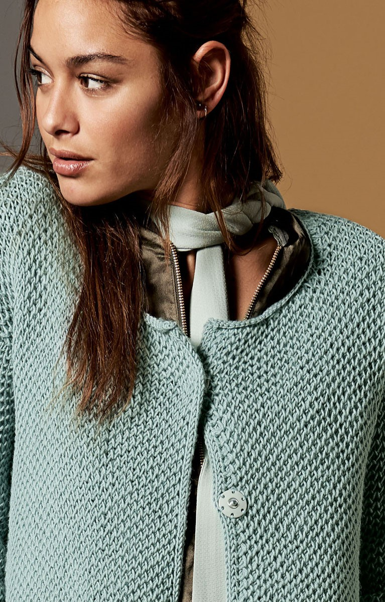 Lana Grossa GILET Cool Wool Melange