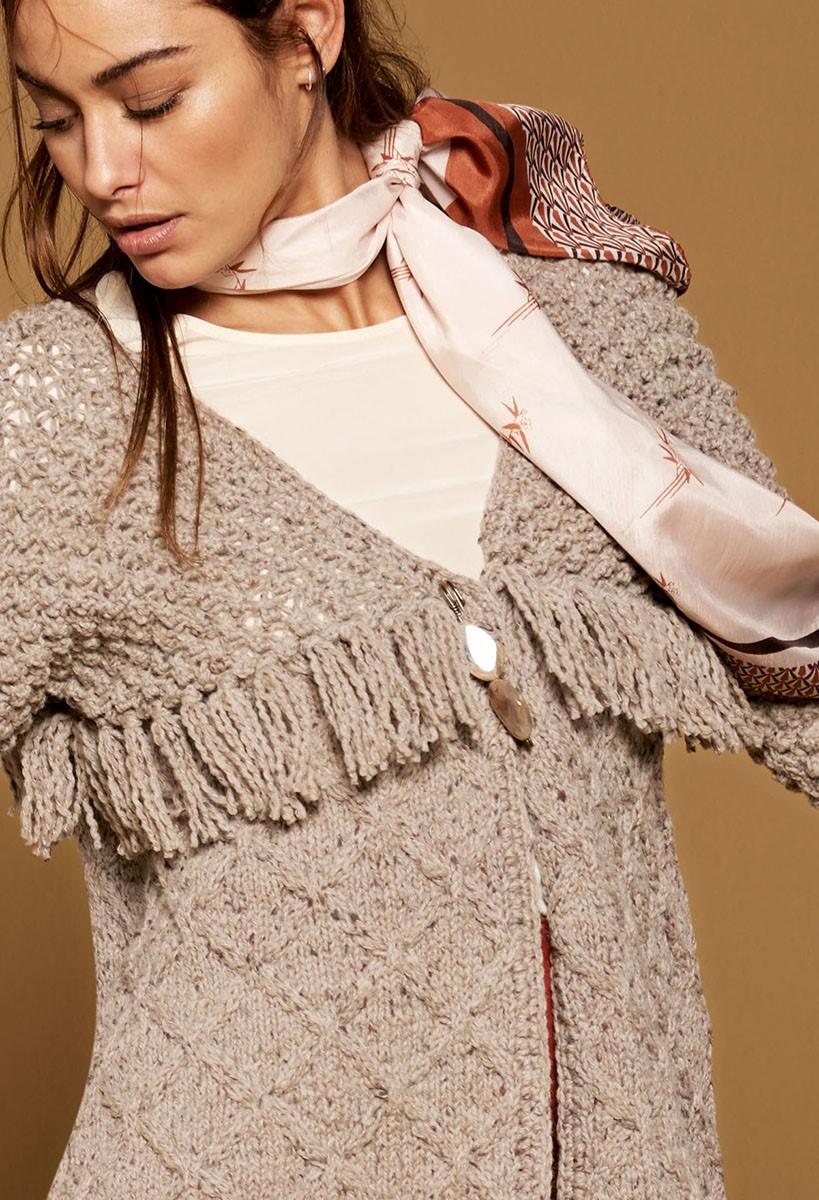 Lana Grossa GILET Royal Tweed