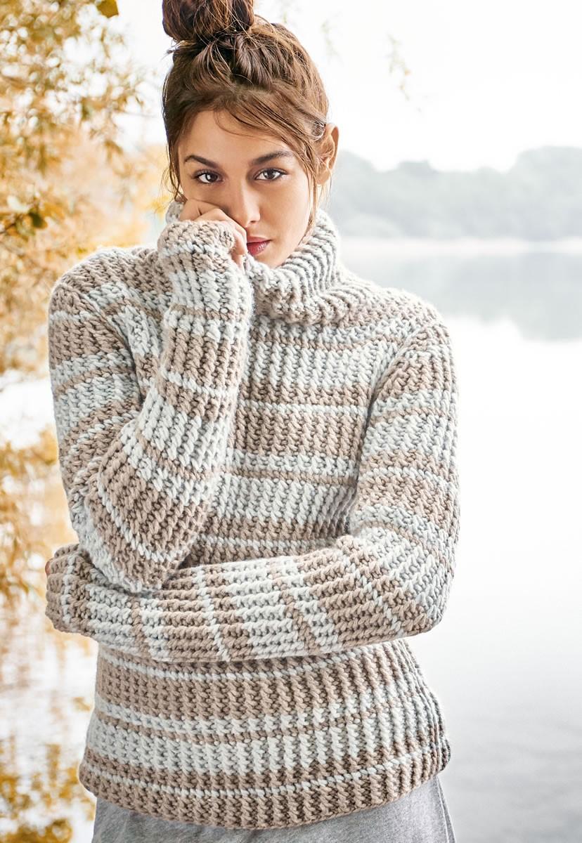Lana Grossa PULL Alta Moda Cashmere 16