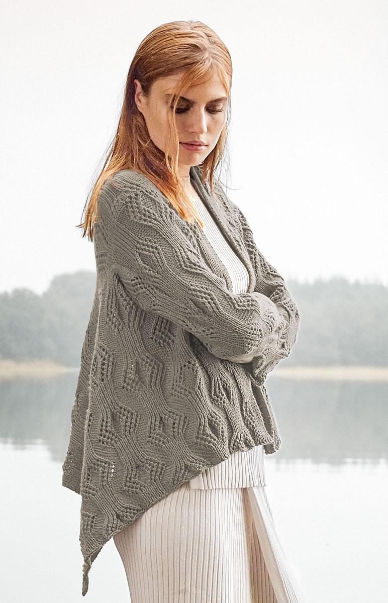 Lana Grossa GILET Cool Wool Cashmere