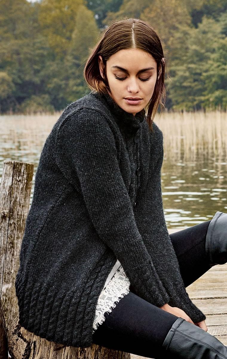 Lana Grossa GILET Alta Moda Alpaca