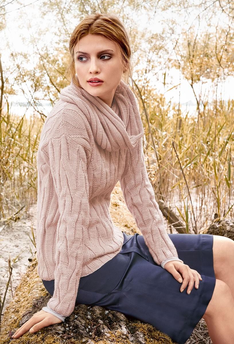 Lana Grossa ÉCHARPE TUBE Cool Wool Cashmere