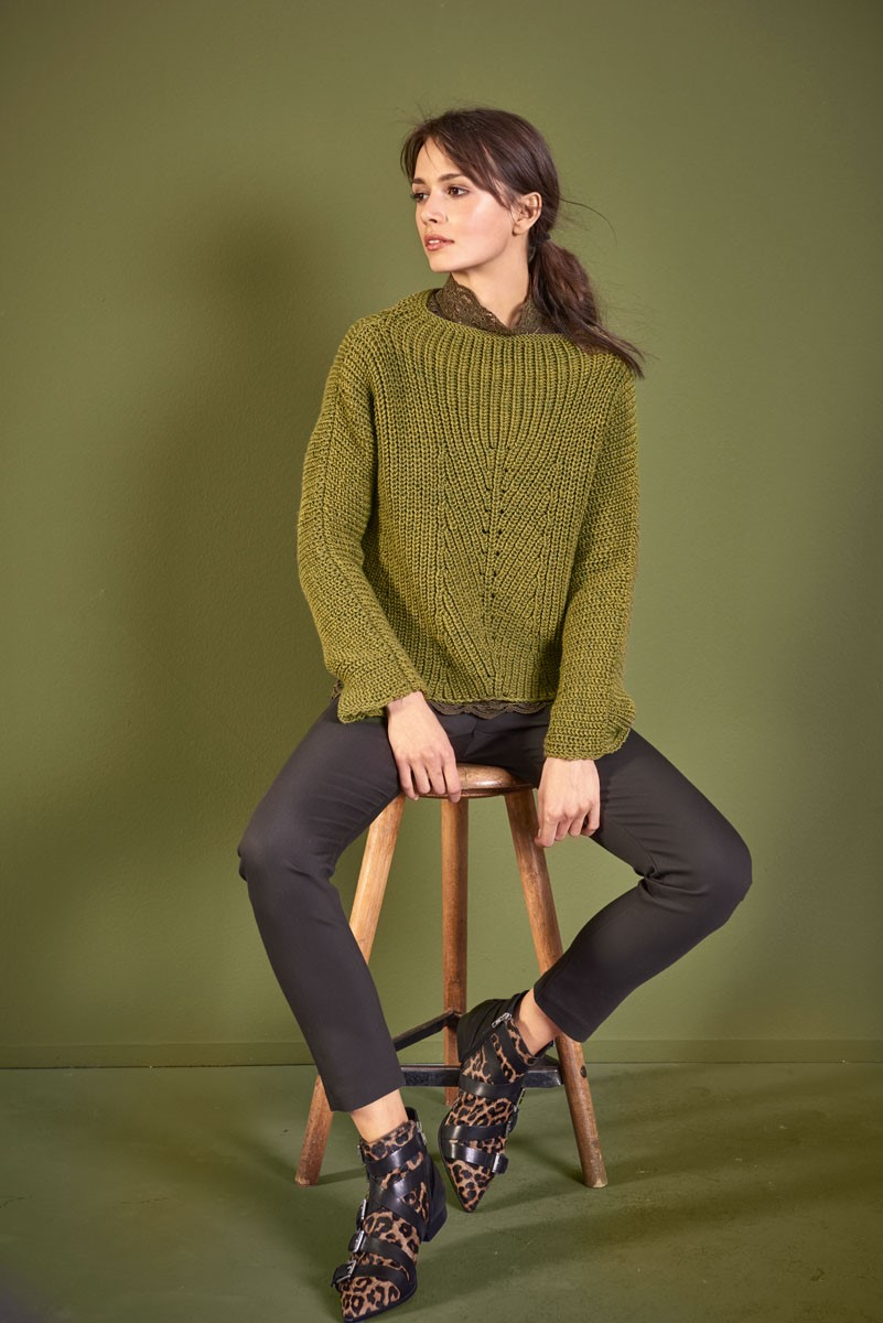Lana Grossa PULL Cool Wool Big Melange