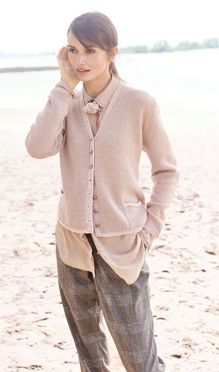 Lana Grossa GILET Cool Wool Alpaca