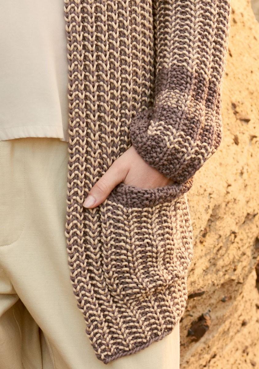 Lana Grossa GILET Only Cotton