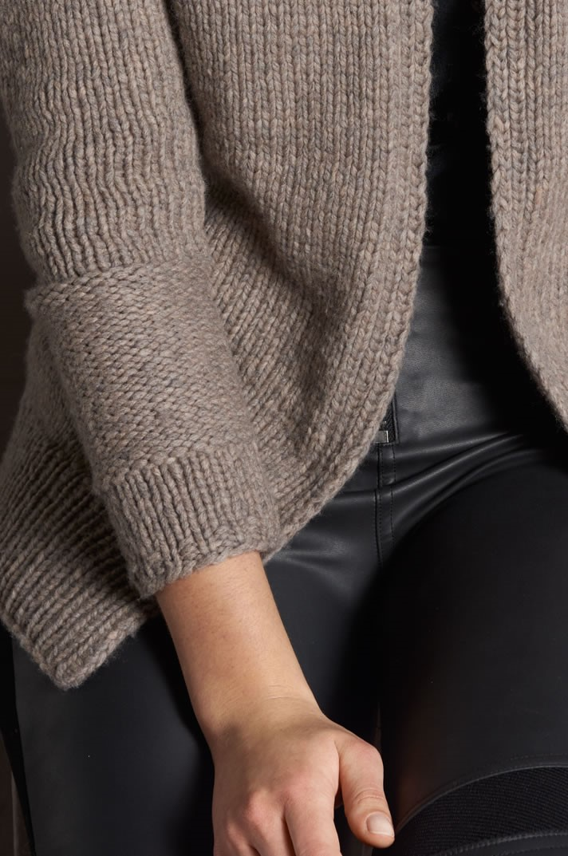 Lana Grossa CARDIGAN Alta Moda Cashmere 16