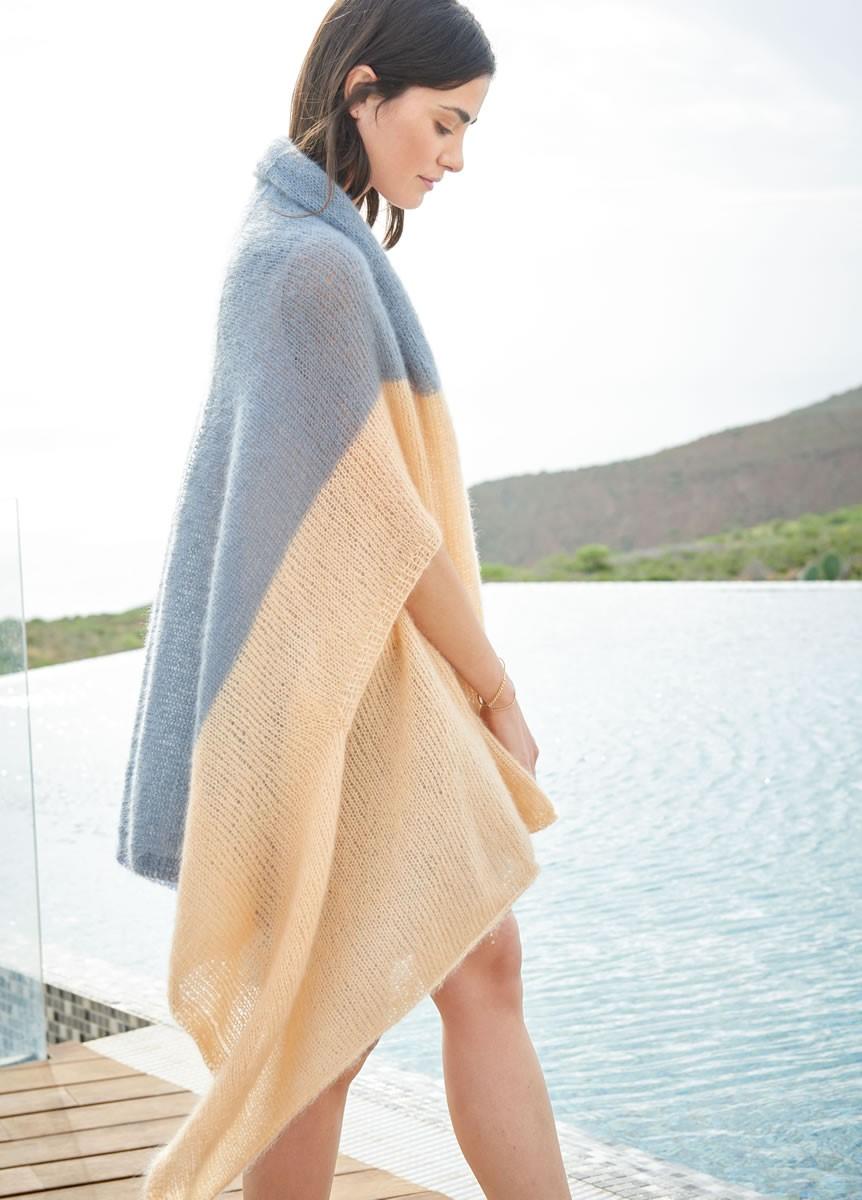 Lana Grossa PONCHO/ÉTOLE Silkhair