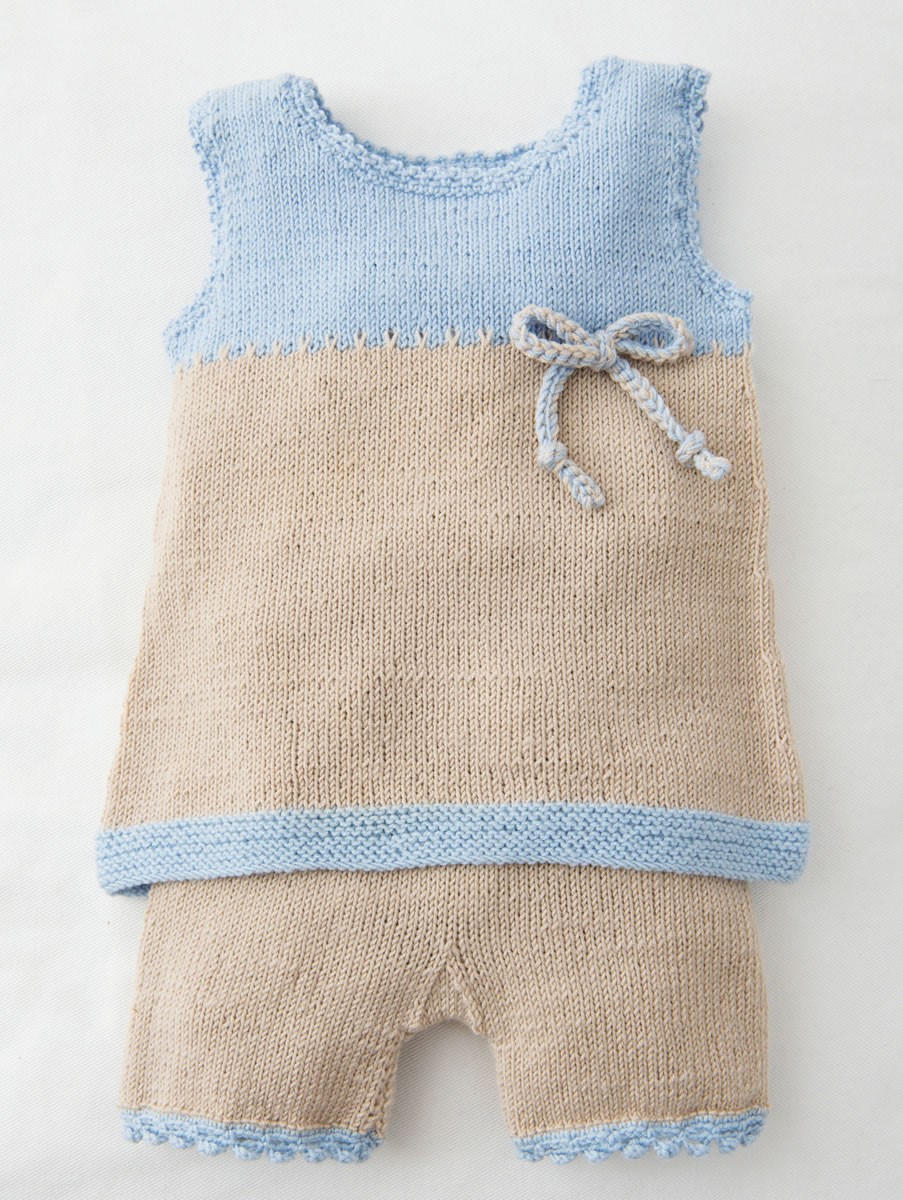 Lana Grossa TUNIQUE ET CHAUSSONS Cool Wool Baby