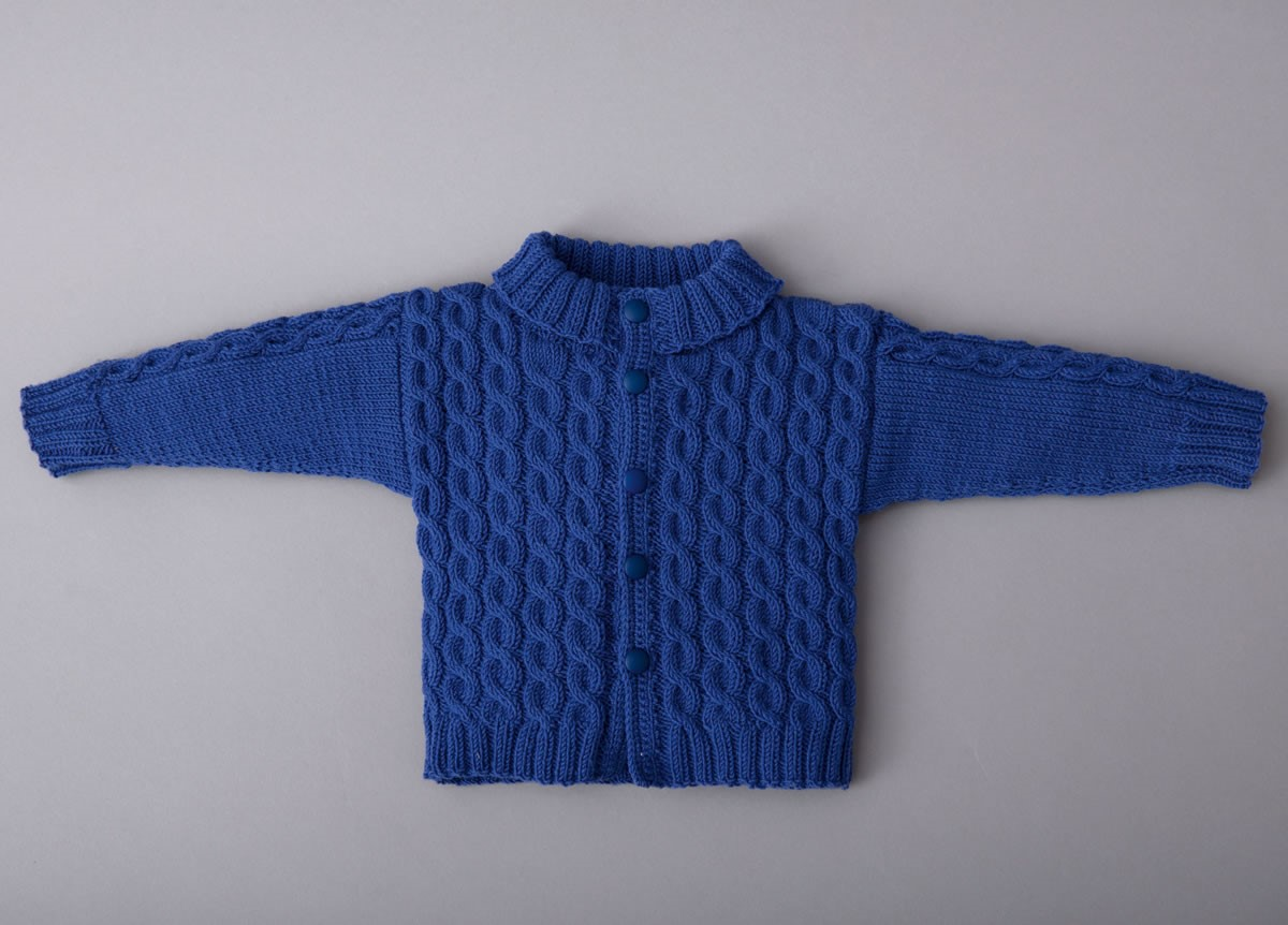 Lana Grossa CARDIGAN Cool Wool Baby