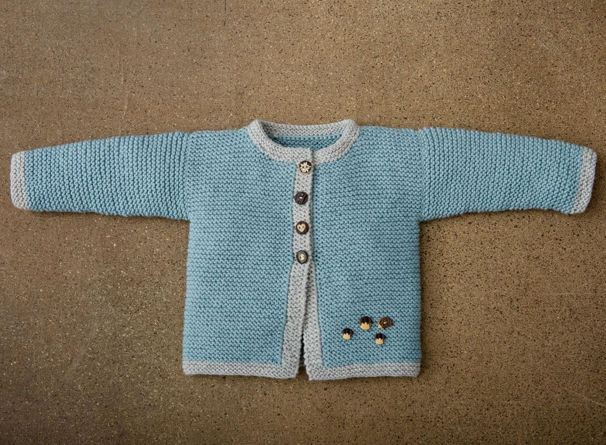 Lana Grossa CARDIGAN Cool Wool Big