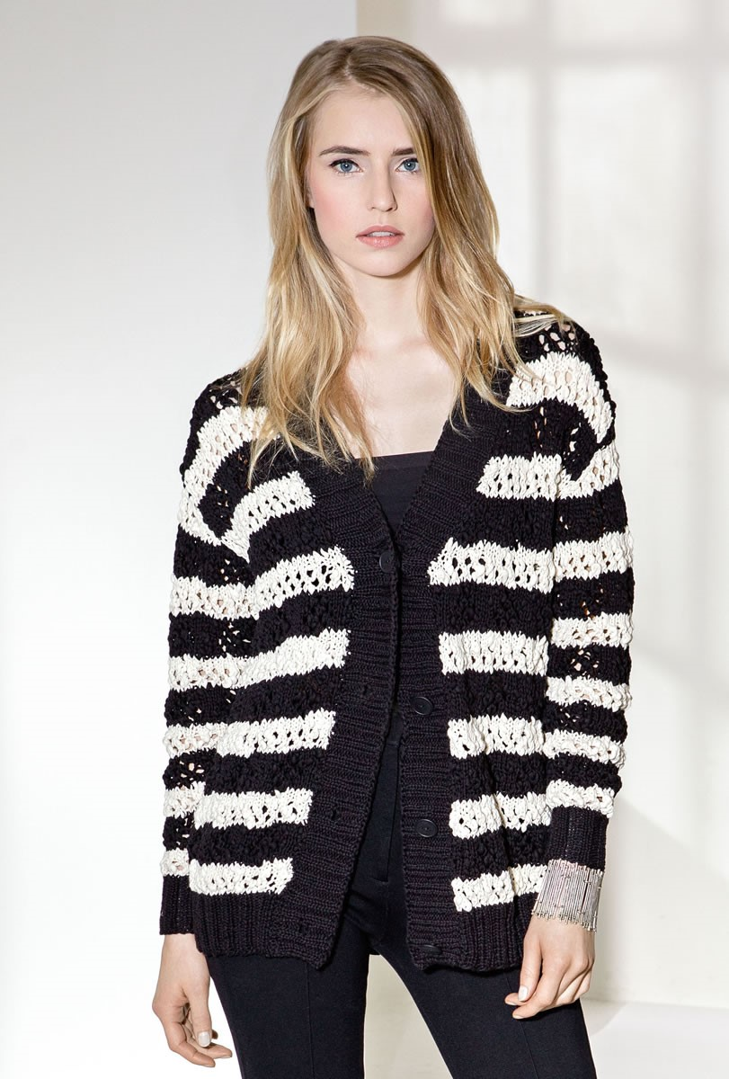 Lana Grossa GILET Cotton Style/Only Cotton