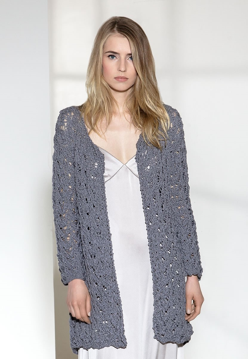 Lana Grossa GILET Cotton Style