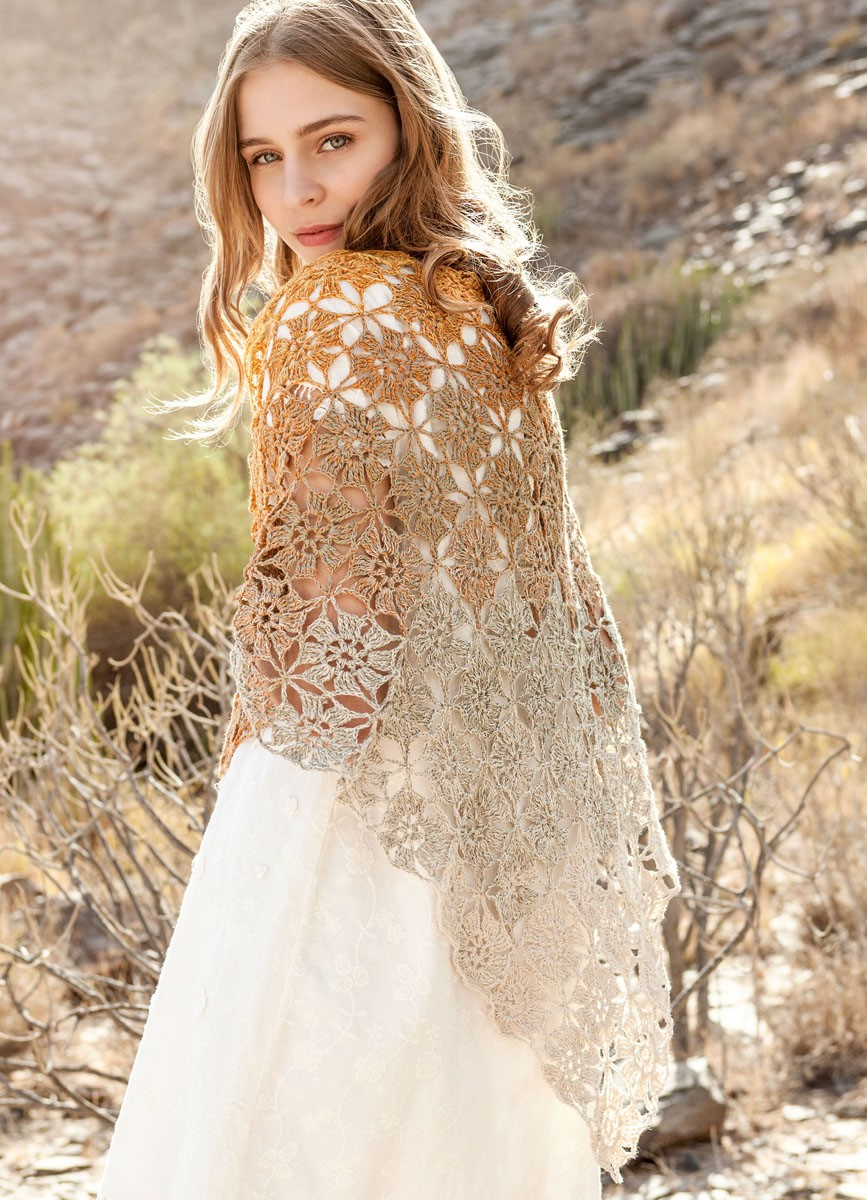Lana Grossa CHÂLE Shades of Cotton Linen