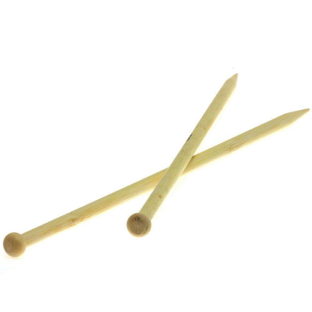 Lana Grossa Aiguilles à tricoter bambou N°10