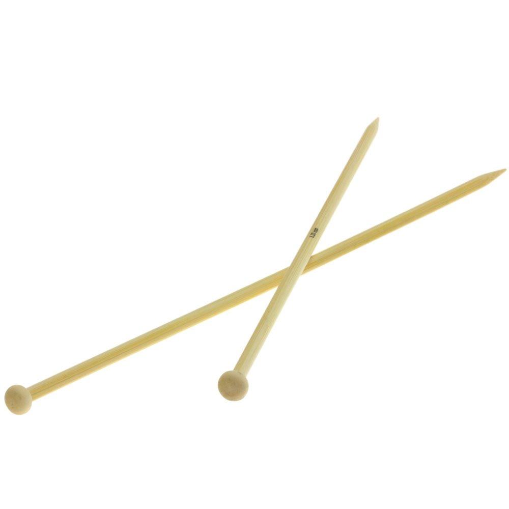 Lana Grossa Aiguilles à tricoter bambou N° 6