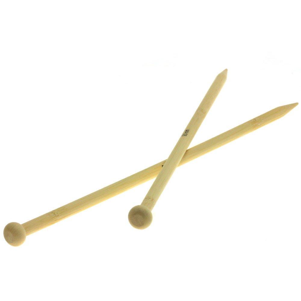 Lana Grossa Aiguilles à tricoter bambou N° 9