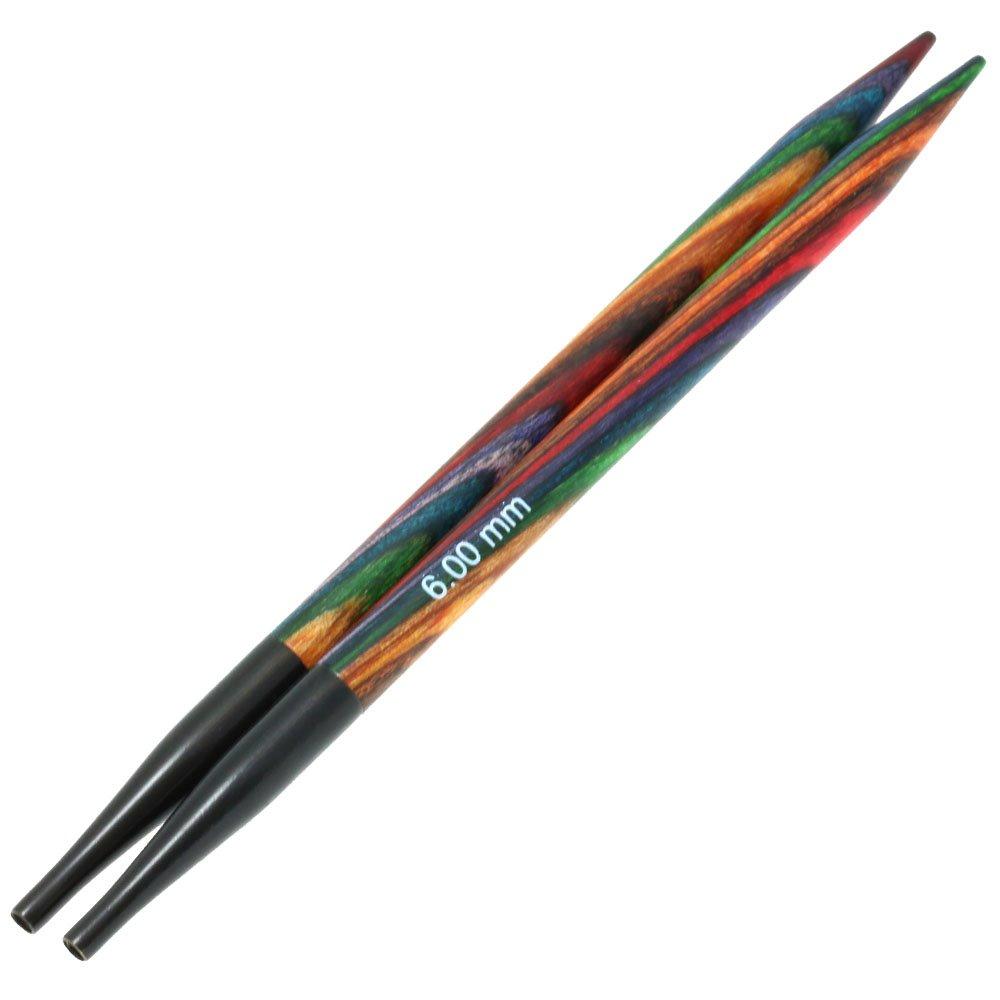 Lana Grossa Aiguilles interchangeables design en bois Color Vario N° 6