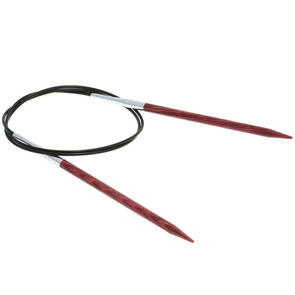 Lana Grossa Aiguille circulaire design en bois Color N° 5/80cm