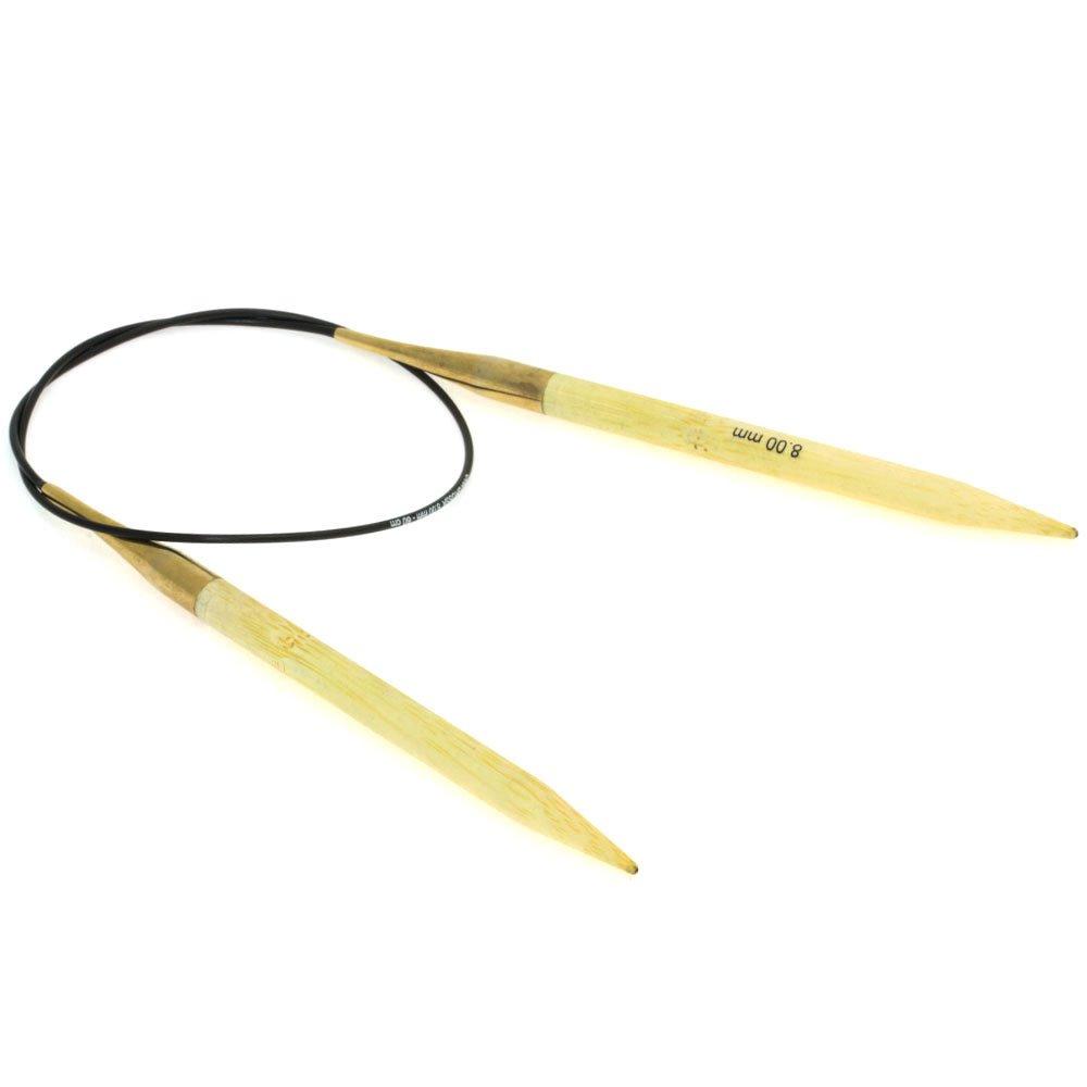 Lana Grossa Aiguille circulaire bambou N° 8/60cm