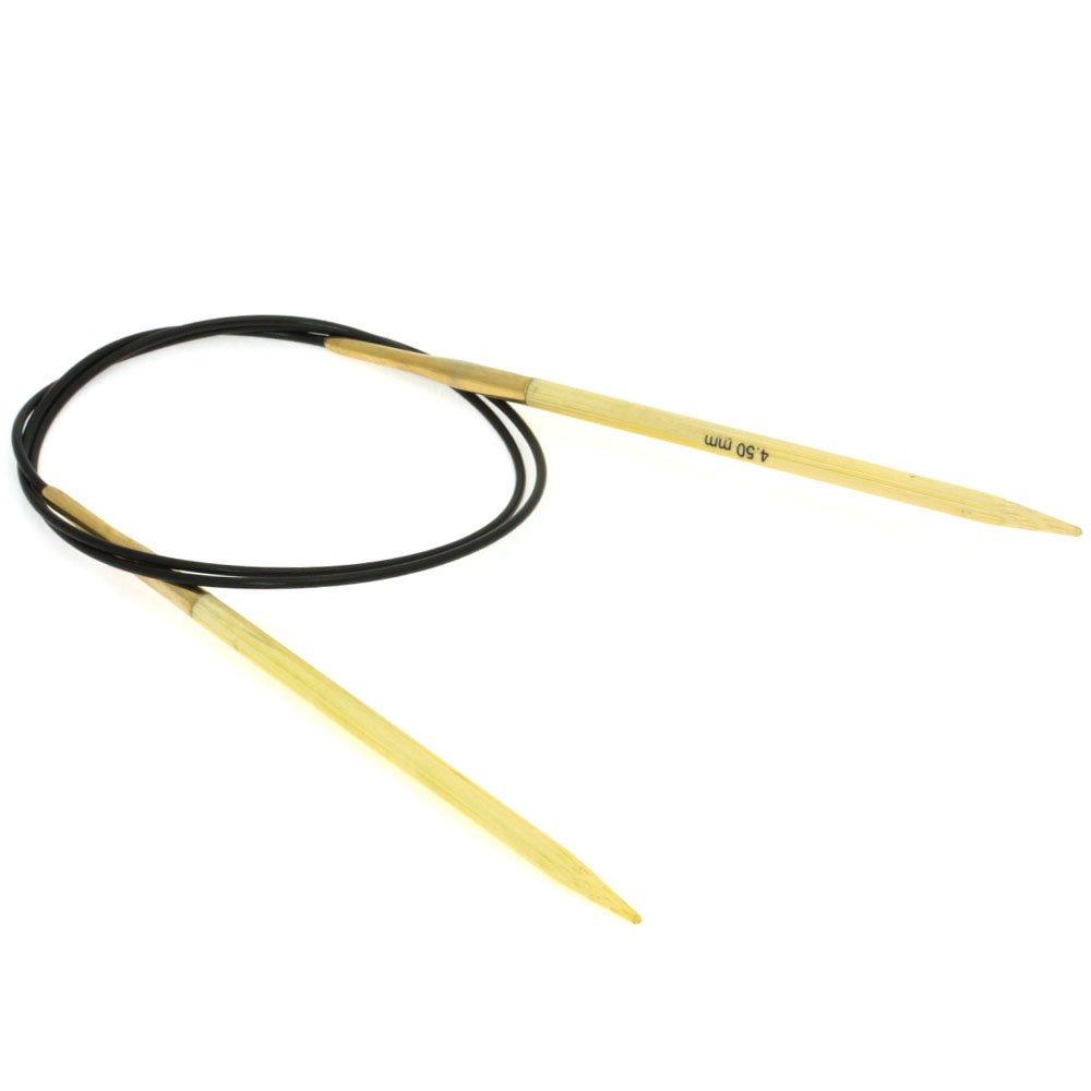 Lana Grossa Aiguille circulaire bambou N° 4,5/80cm