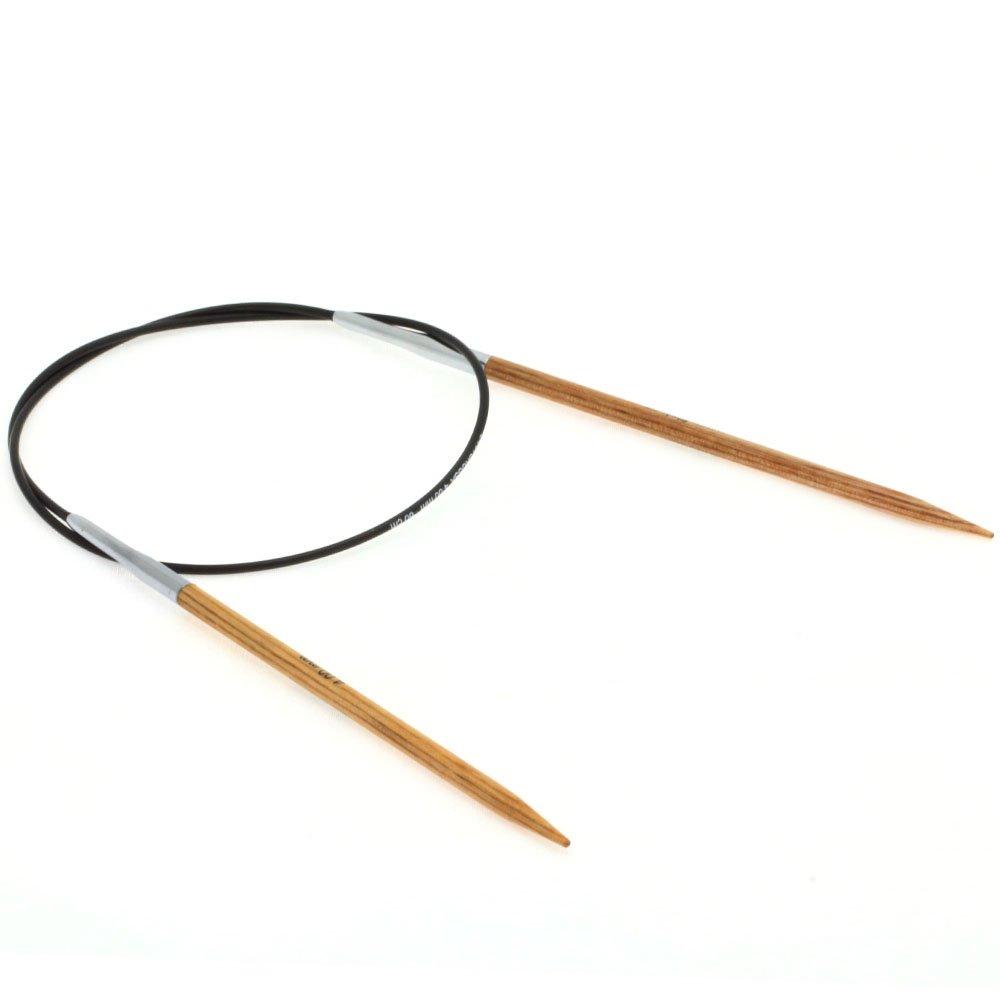 Lana Grossa Aiguille circulaire design en bois Natur N° 4/60cm