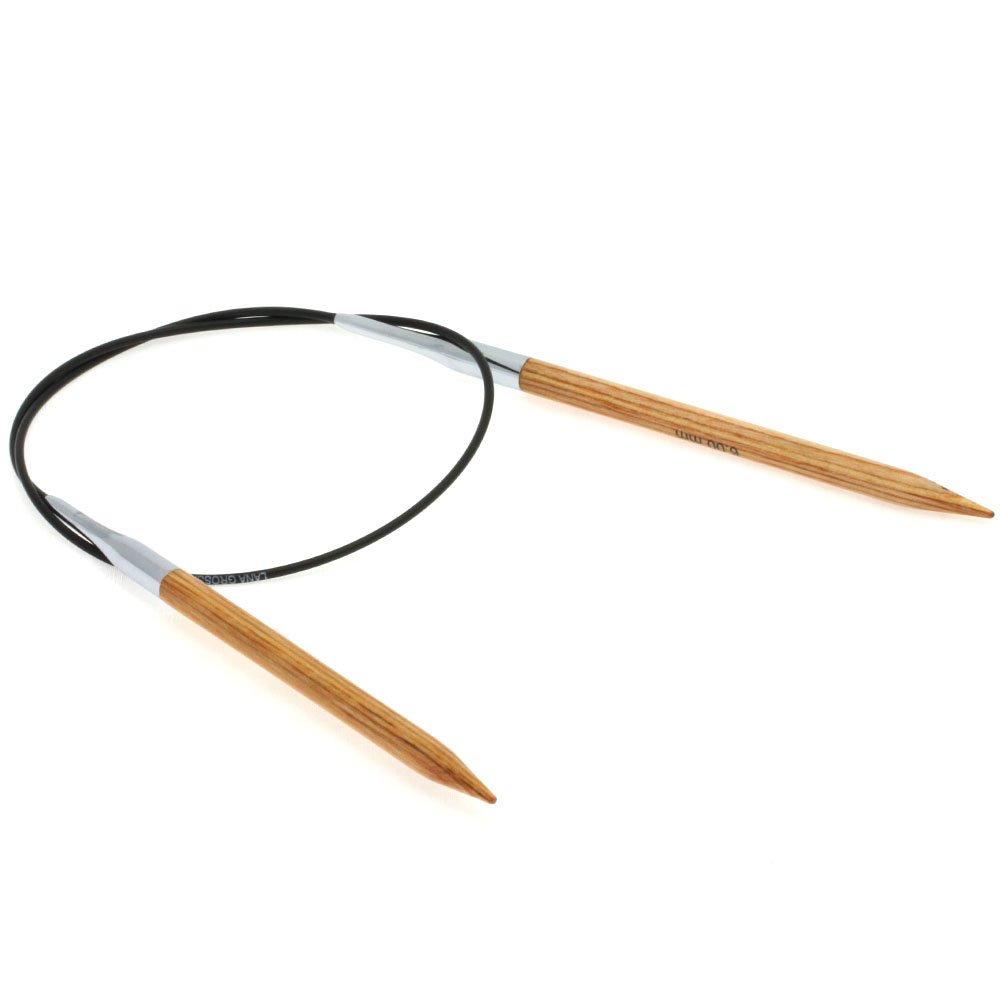 Lana Grossa Aiguille circulaire design en bois Natur N° 6/60cm