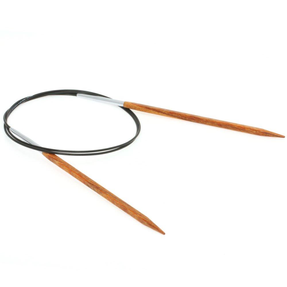 Lana Grossa Aiguille circulaire design en bois Quattro N° 4,5/80cm